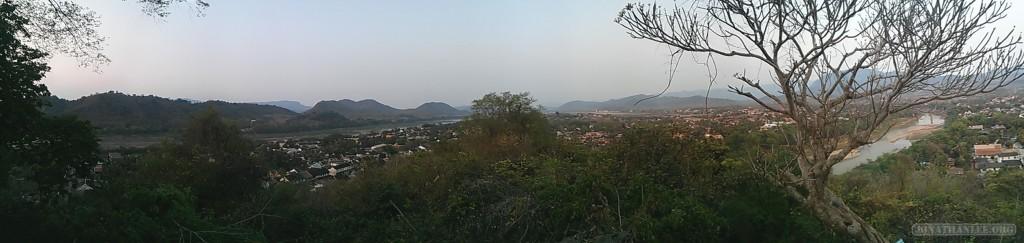 Luang Prabang - panorama Mount Phousi view 1