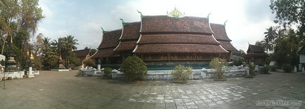 Luang Prabang - panorama Wat Xieng Thong