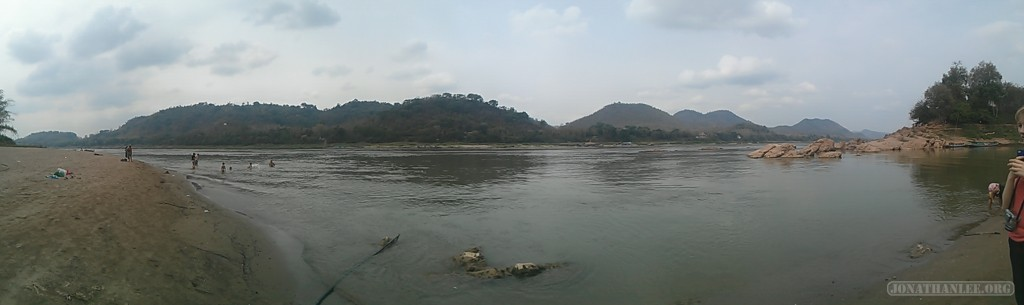 Luang Prabang - panorama river view 2