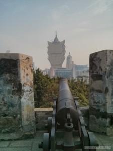 Macau - Monte fort cannon