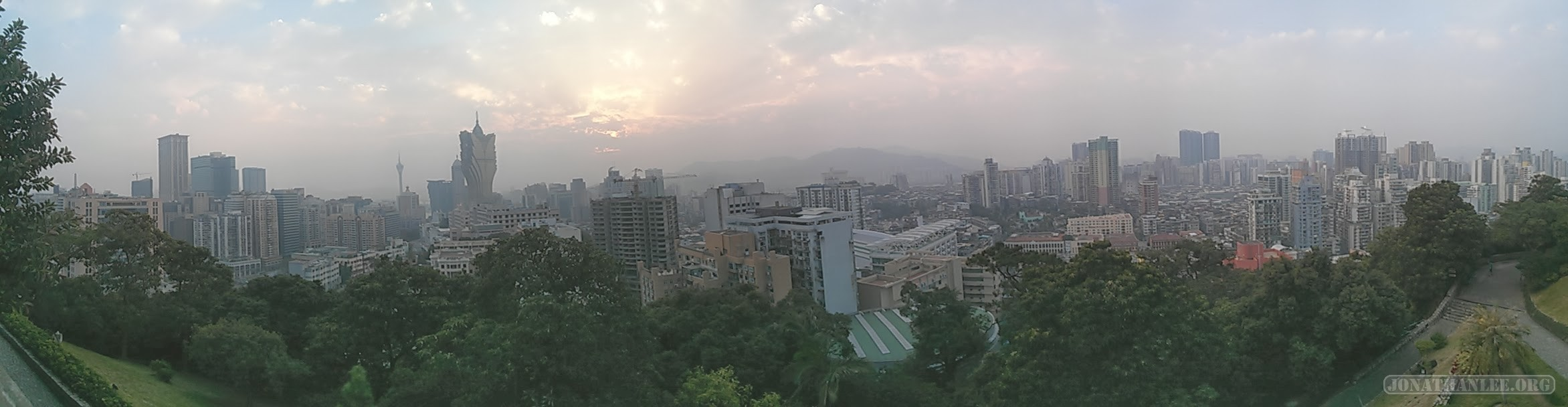 Macau - panorama view 1