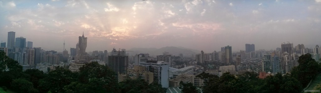 Macau - panorama view 2