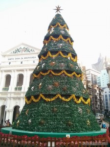 Macau - sad christmas tree