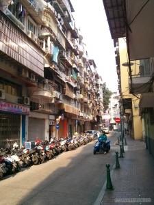Macau - street like Taiwan