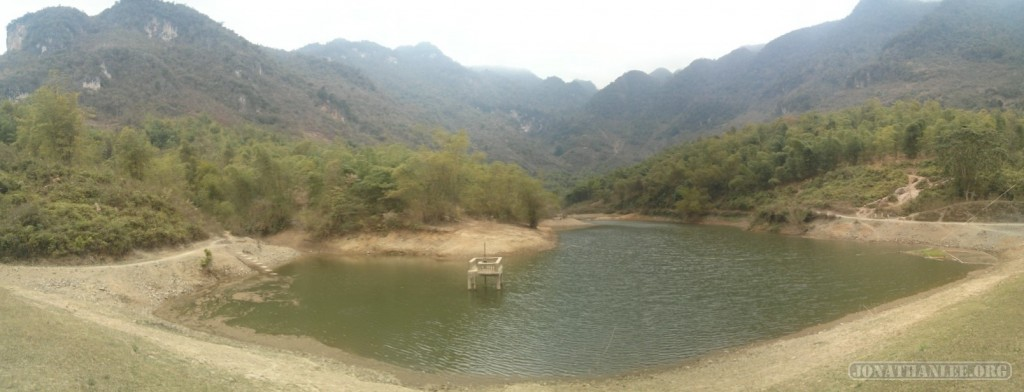 Mai Chau - panorama lake