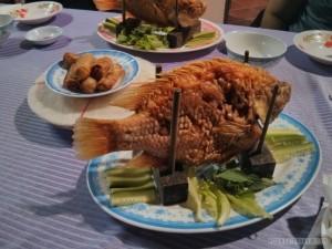 Mekong delta - homestay dinner