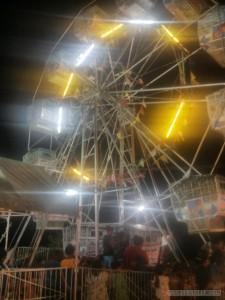 Moalboal - nightly festival ferris wheel