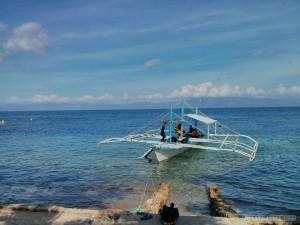 Moalboal - scuba diving boat