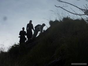 Mount Batur - afraid of heights