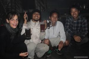 Mount Batur - group photo 1