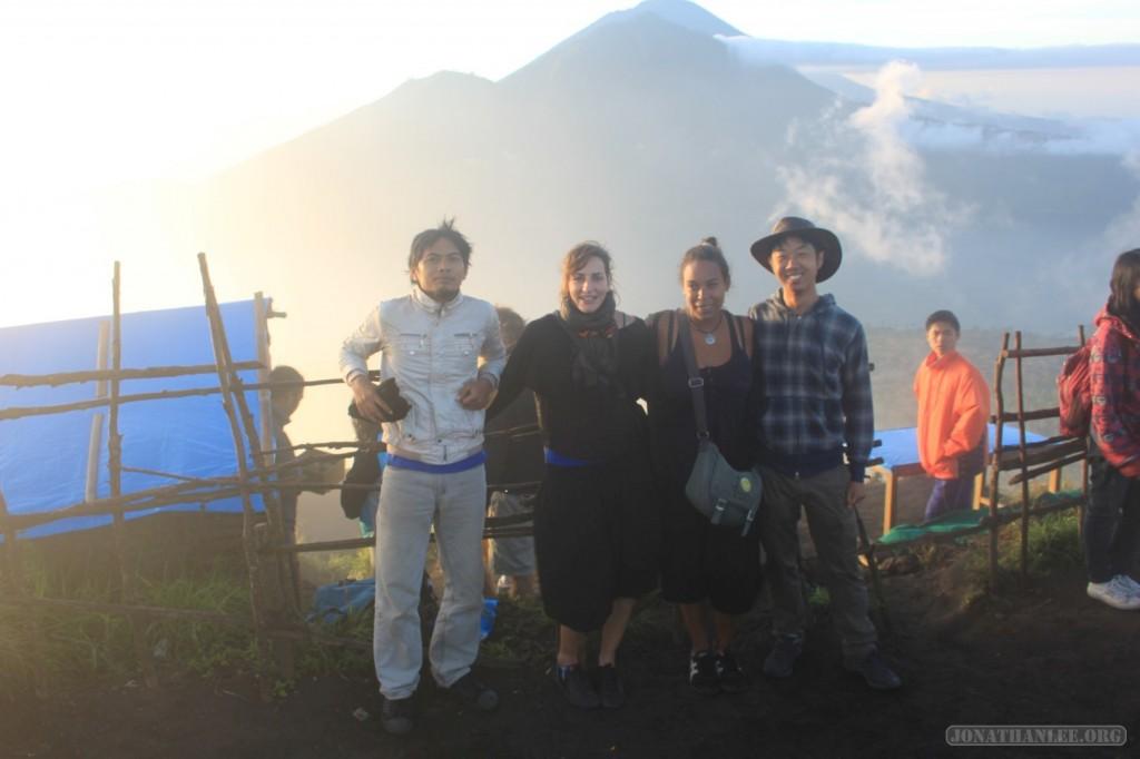 Mount Batur - group photo 2