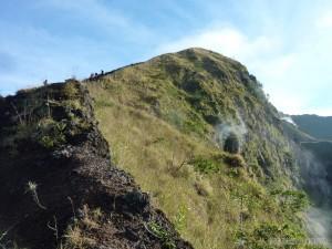 Mount Batur - steam vent 2