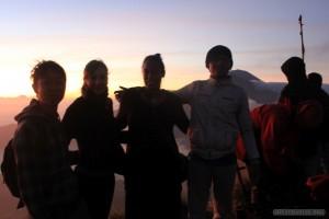 Mount Batur - sunrise group photo 2