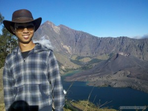 Mount Rinjani - first day portrait