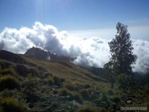 Mount Rinjani - first day scenery 5
