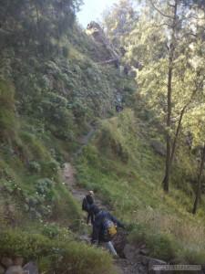 Mount Rinjani - second day climbing 1
