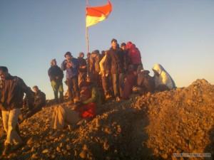 Mount Rinjani - summit