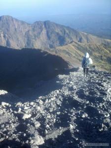 Mount Rinjani - summit path 2