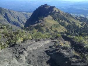 Mount Rinjani - summit path 3
