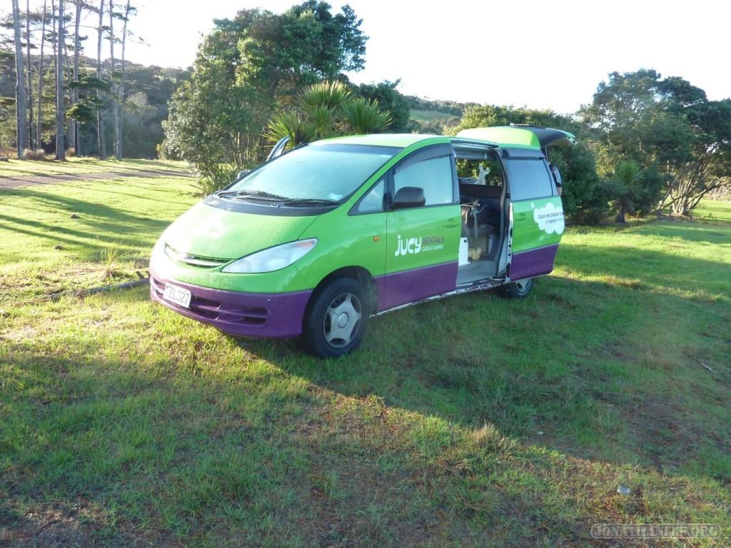 NZ Campervanning - campervan 1