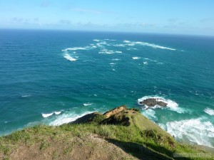 NZ North Island - Cape Reinga clash of seas