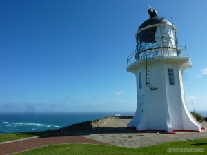 NZ North Island - Cape Reinga lighthouse