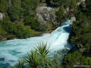 NZ North Island - Ruka Falls 1