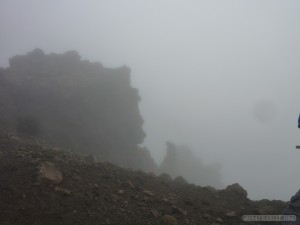 NZ North Island - Tongariro mists