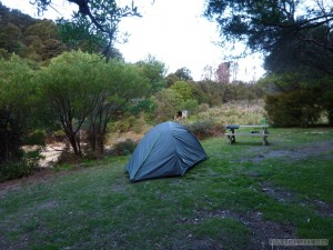 NZ South Island - Able Tasman tent