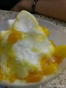 Night Market - mango shaved ice