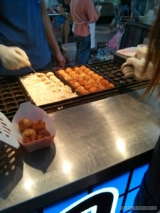 Night Market - takoyaki 1