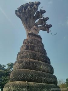 Nong Khai - Sala Keoku 11 buddha and the snakes