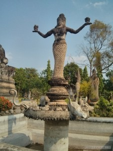 Nong Khai - Sala Keoku 32 scales of justice