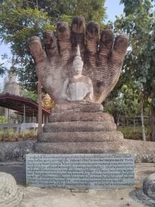 Nong Khai - Sala Keoku 35 buddha and snakes again