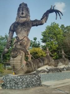 Nong Khai - Sala Keoku 38 naga
