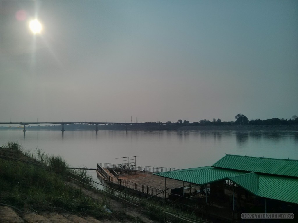 Nong Khai - friendship bridge view
