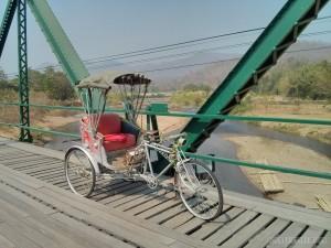 Pai bridge bicycle
