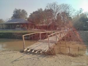 Pai - bamboo bridge