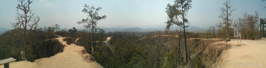 panorama Pai canyon 2