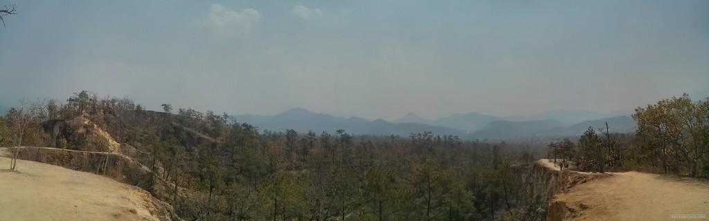 panorama Pai canyon 3