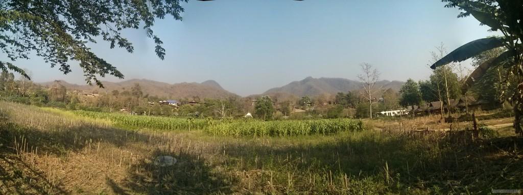 Pai - panorama view from hut