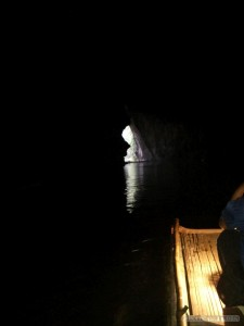 Pang Mapha - Lod Cave boat to exit
