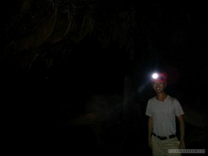 Pang Mapha - caving trip fossil cave dark portrait