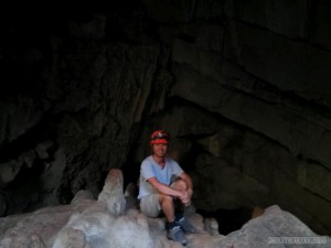 Pang Mapha - caving trip fossil cave portrait