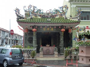 Penang - Chinese temple