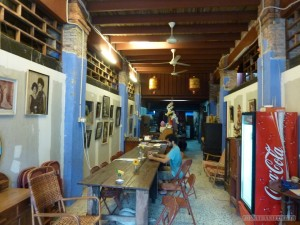 Penang - hostel common room