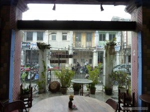 Penang - hostel view