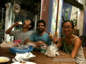 Penang - hostel with friends 2