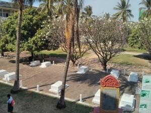 Phnom Penh - Toul Sleng courtyard