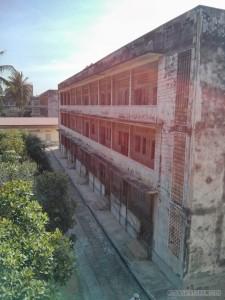 Phnom Penh - Toul Sleng school view 2